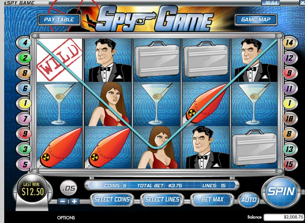 Jouer à Spy Game