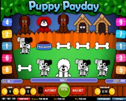 Machine à sous Puppy Payday
