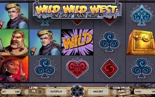 Wild Wild West : la machine à sous sur le Far West de NetEnt