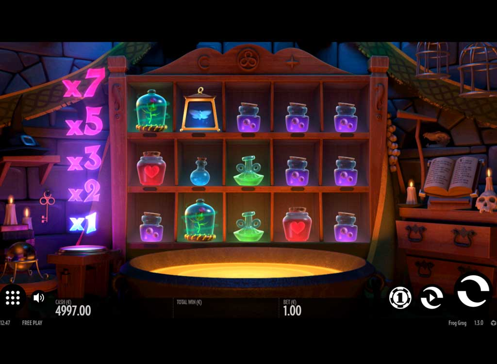 machine sous frog grog de thunderkick jeux gratuits de casino. Black Bedroom Furniture Sets. Home Design Ideas