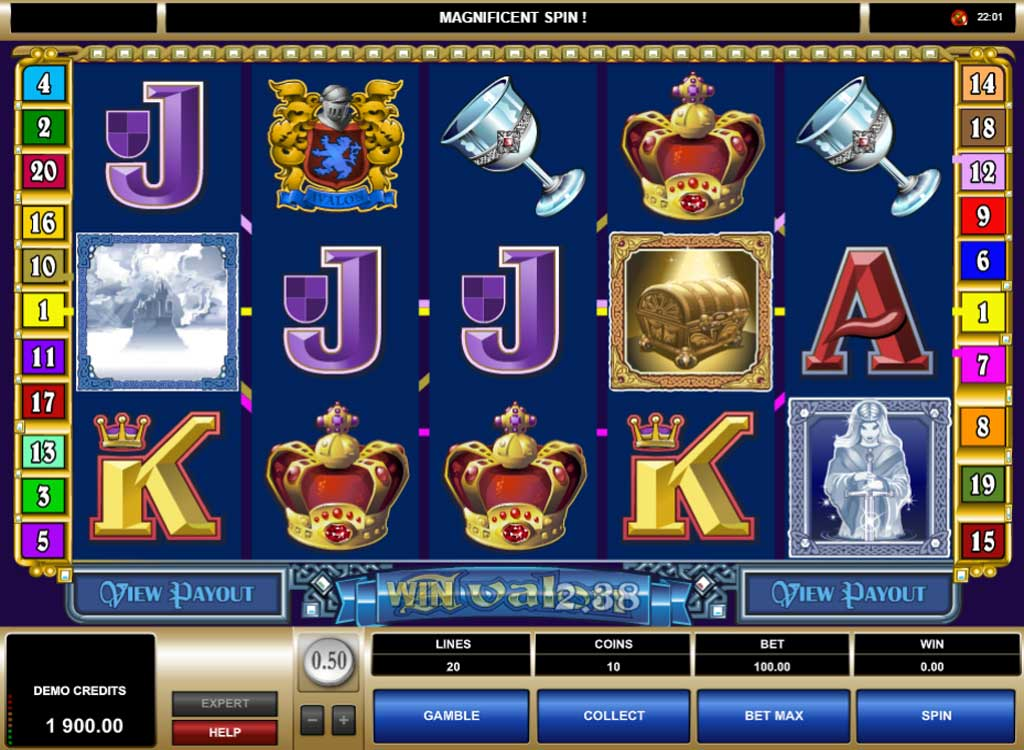 Blackjack casino machine