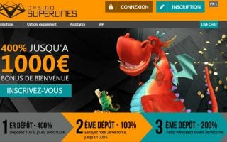 Profitez des Happy Hour du casino Superlines