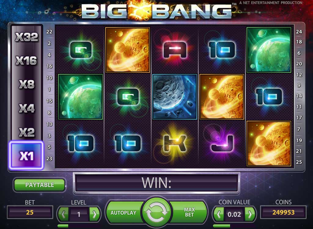 Jouer à Big Bang
