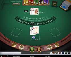 Aperçu Blackjack MH