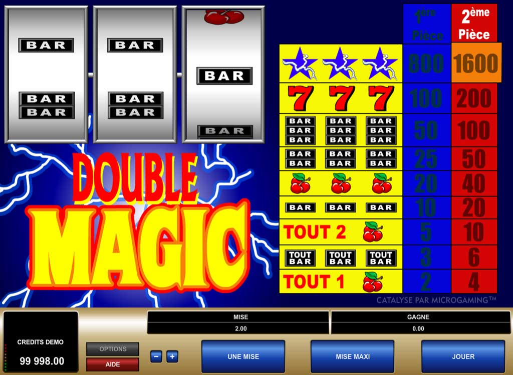 Jouer à Double Magic