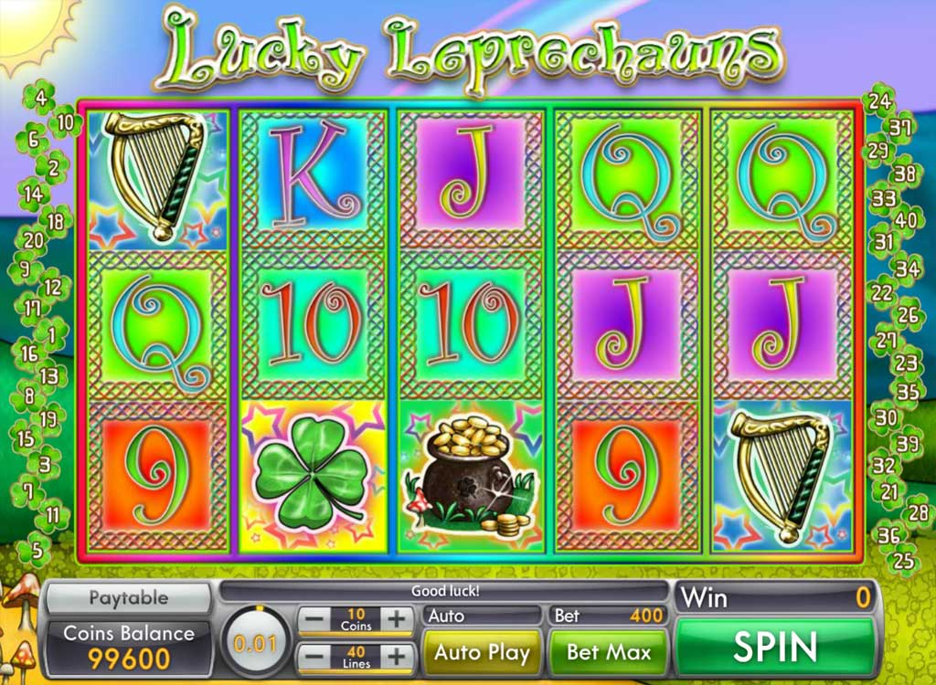 machine sous lucky leprechauns de saucify jeux gratuits de casino. Black Bedroom Furniture Sets. Home Design Ideas