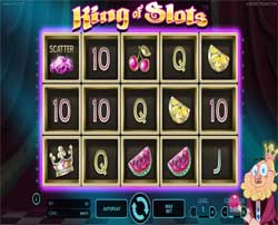 Machine à sous King of Slots