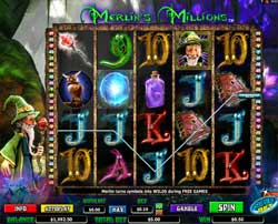 Machine à sous Merlin's Millions Superbet