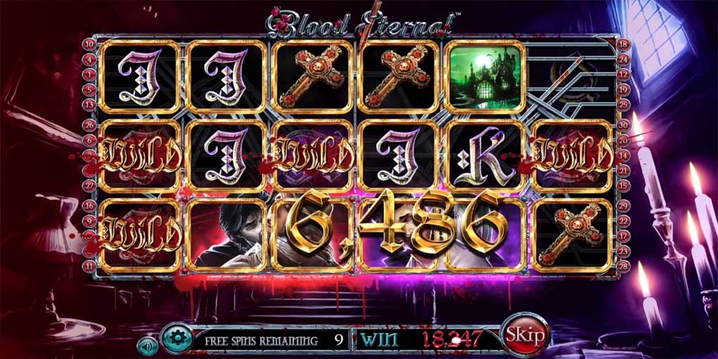 Blood Eternal de Betsoft