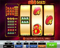 Machine à sous 888 Gold