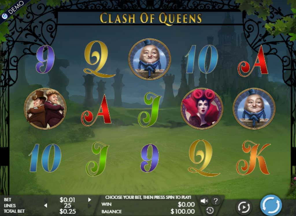 Jouer à Clash of Queens