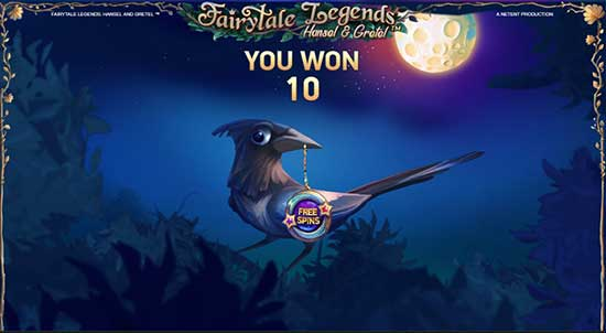 Fairytale Legends : Hansel et Gretel Free Spin