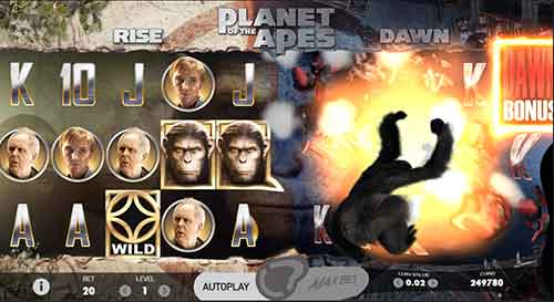 Planet of the Apes Animations en 3D