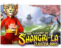 The Legends of Shangri La: Cluster Pays
