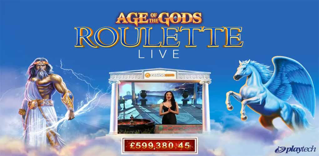 Age of Gods Roulette Live