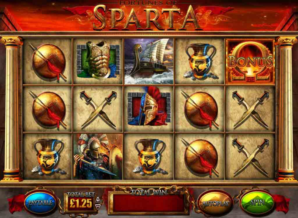 Jouer à Fortunes of Sparta