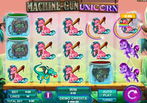Machine à sous Machine Gun Unicorn