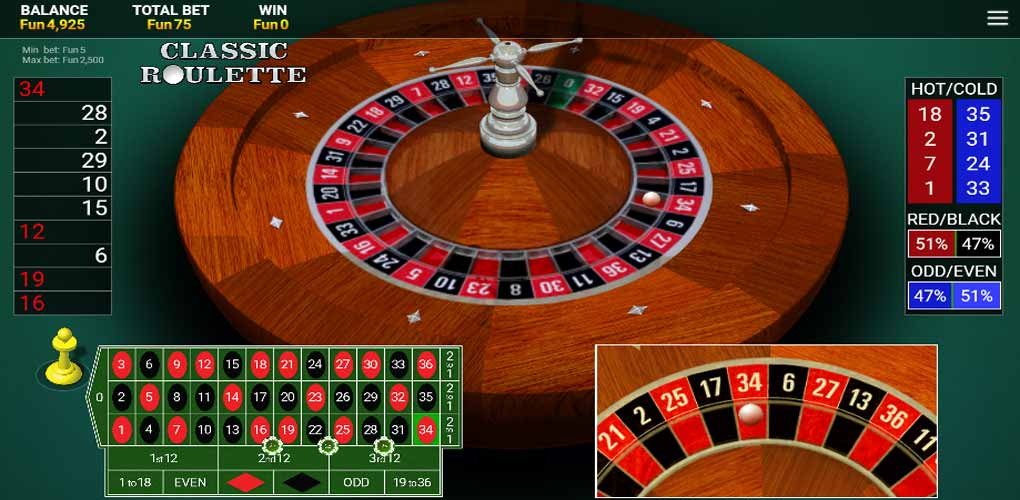 OneTouch Roulette
