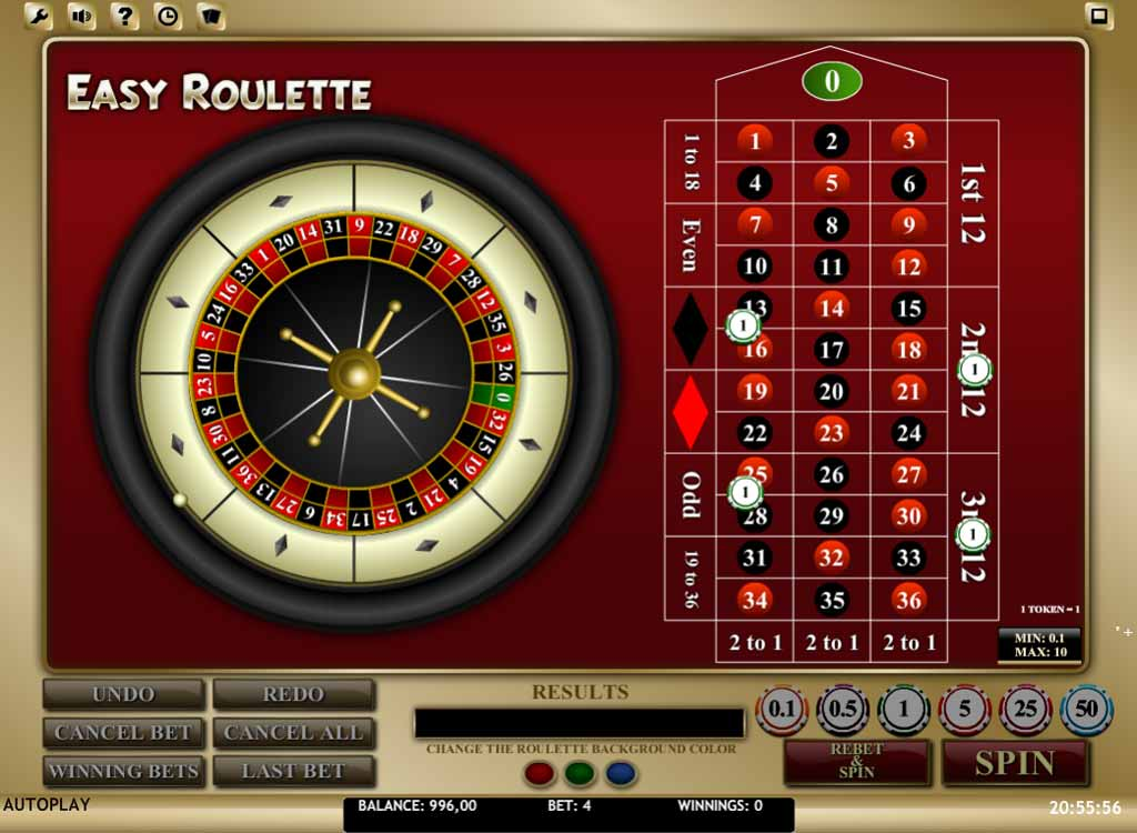 Roulette payout for hitting a number