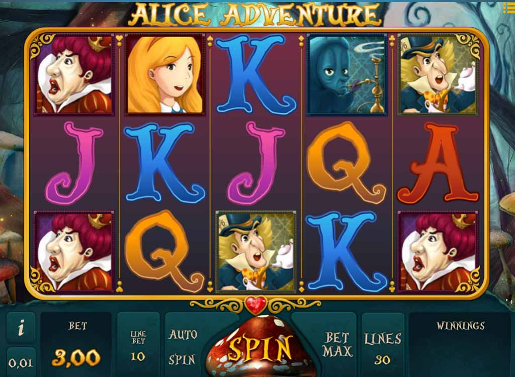 Jouer à Alice Adventure