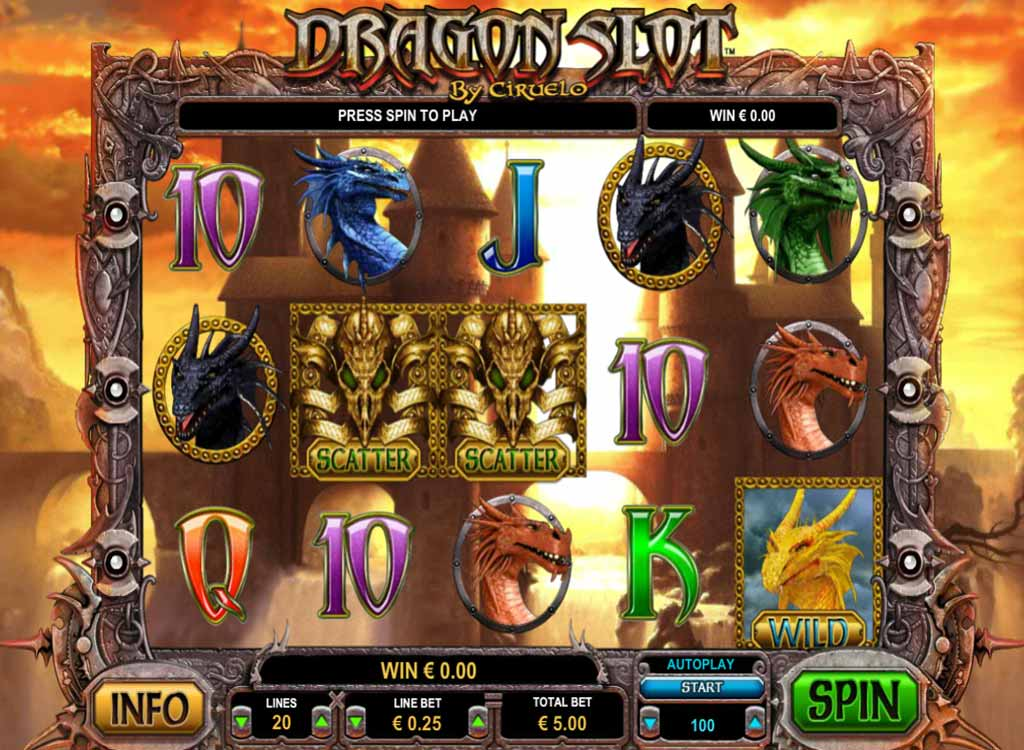 Jouer à Dragon Slot
