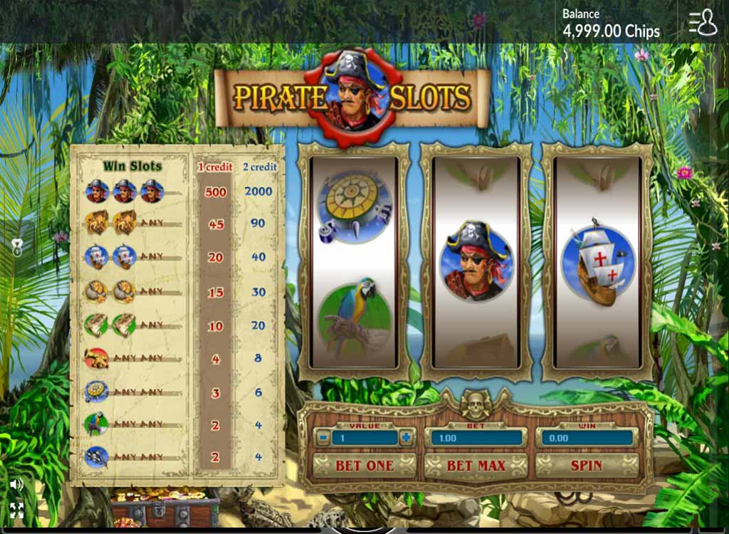 Jouer à Pirate Slots