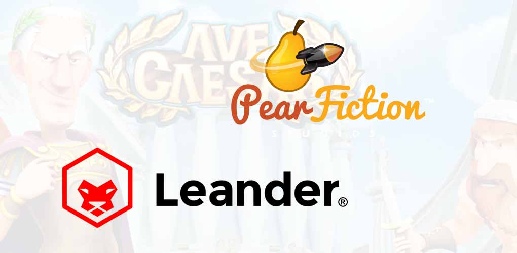 Leander Games et PearFiction
