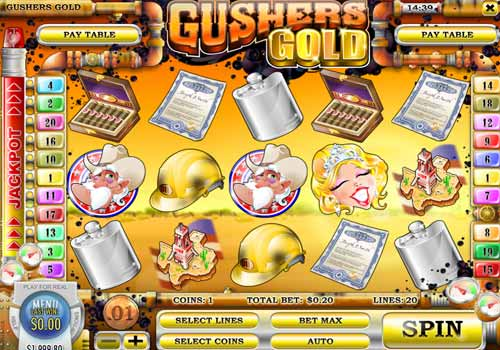 Machine à sous Gushers Gold