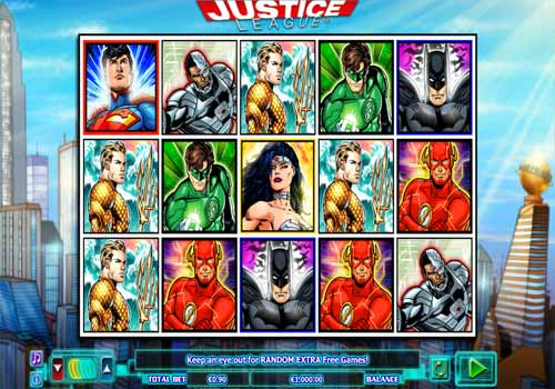 Machine à sous Justice League