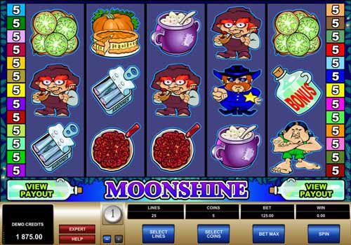 Machine à sous Moonshine