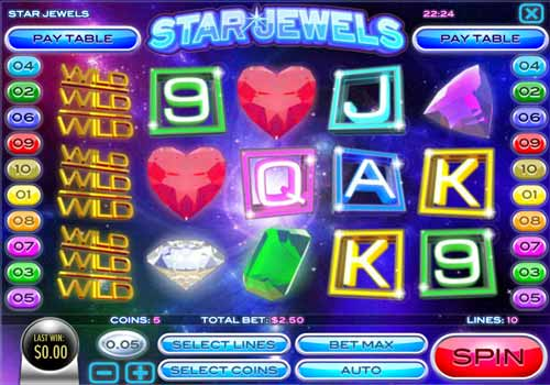 Machine à sous Star Jewels