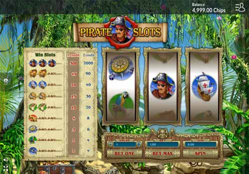 Machine à sous Pirate Slots