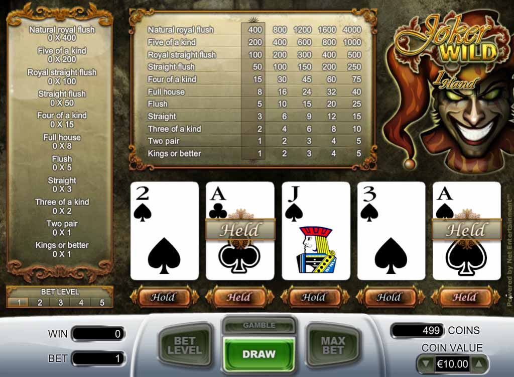 Learn poker online