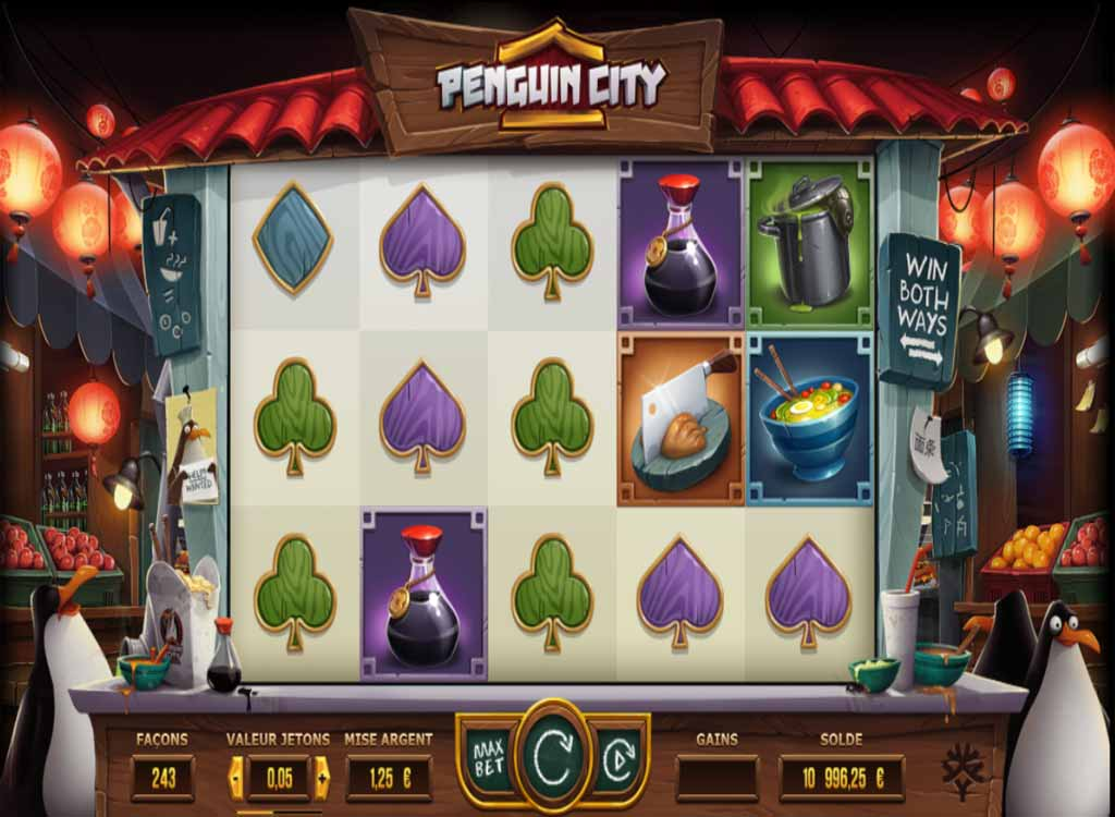 Jouer à Penguin City
