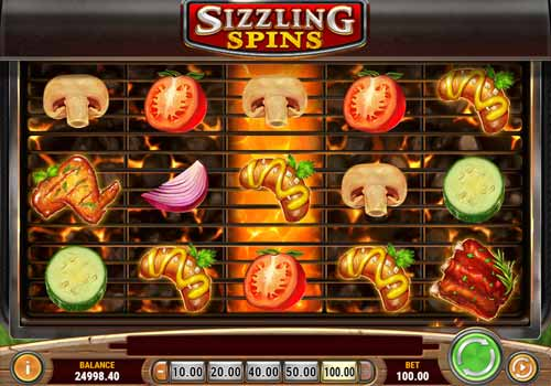 Machine à sous Sizzling Spins