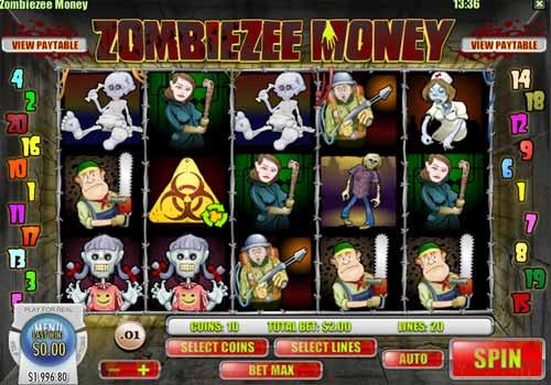 Machine à sous Zombiezee Money