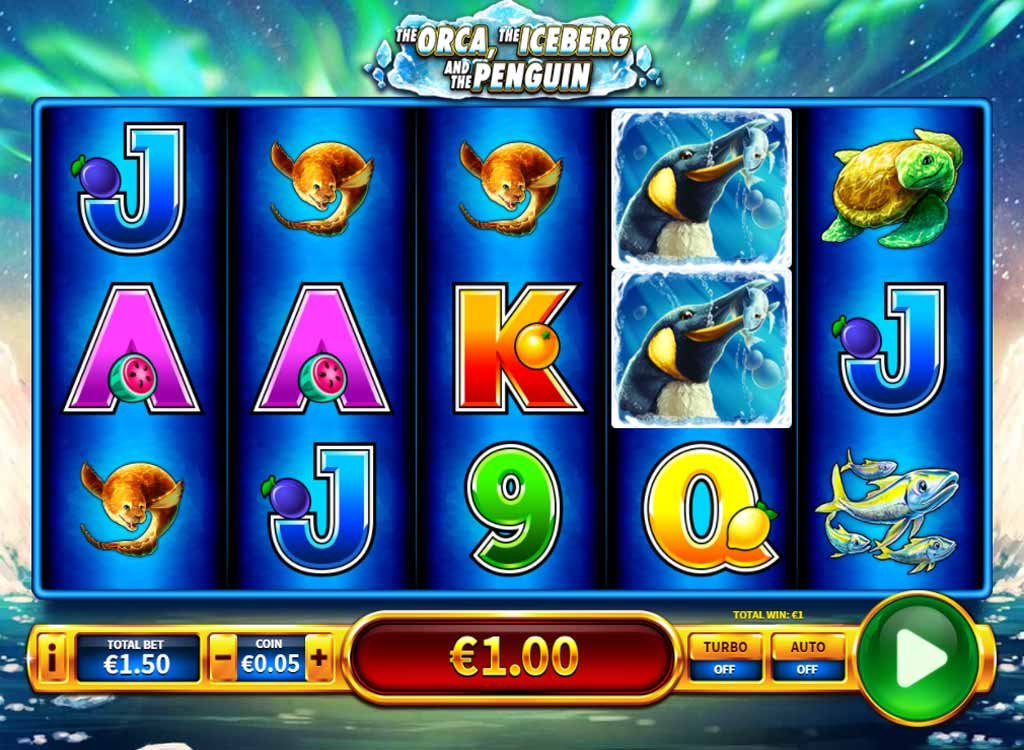 The Orca The Iceberg And The Penguin Slot Machine