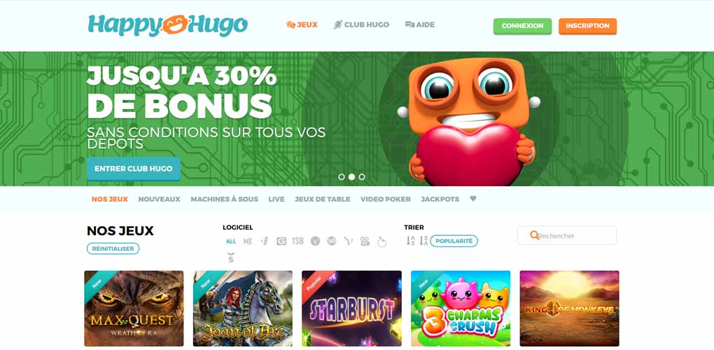 Happy Hugo Bonus