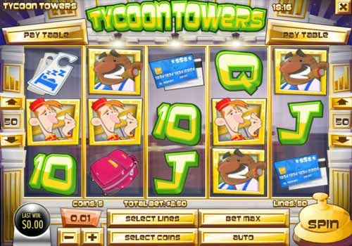Machine à sous Tycoon Towers