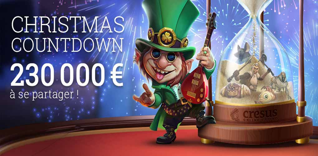 Christmas Countdown de Cresus Casino