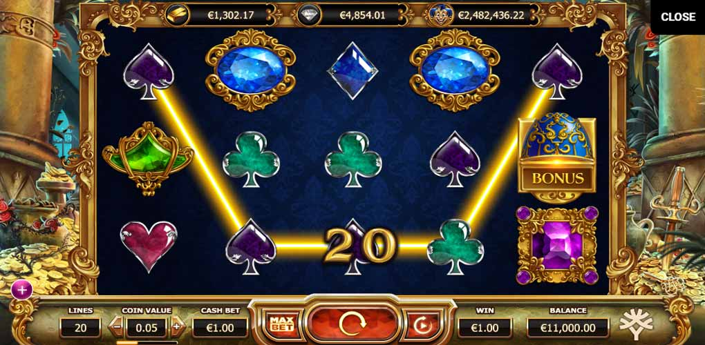 Empire Fortune d'Yggdrasil Gaming