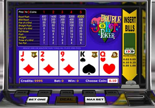 Aperçu Double Joker Poker