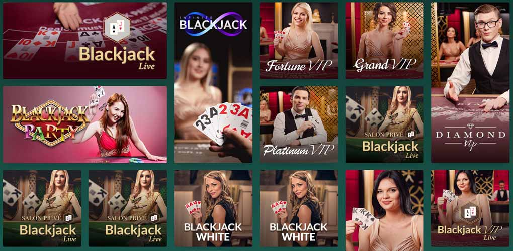 Cresus Casino Live Blackjack