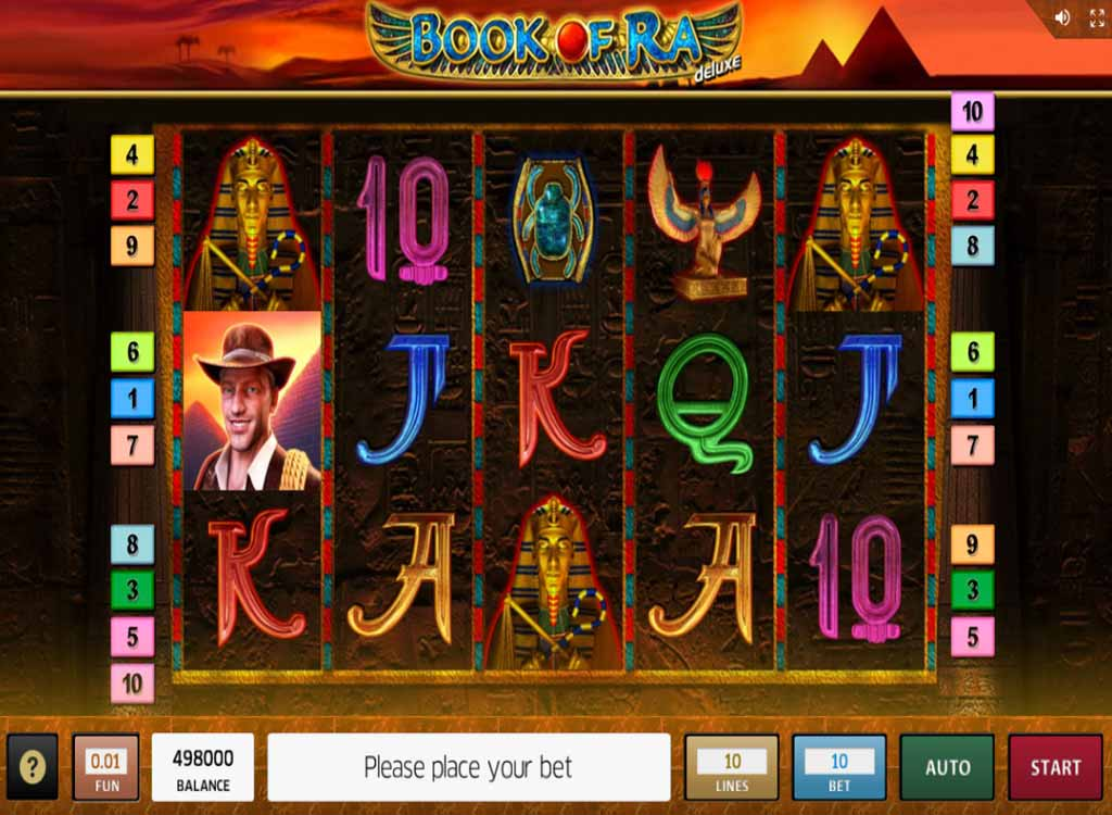 Jeux Book Of Ra Deluxe