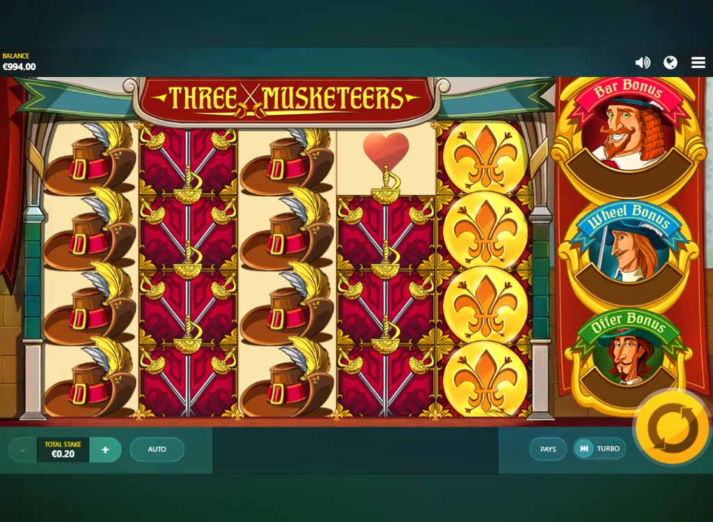 Jouer à Three Musketeers