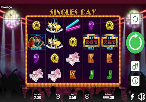 Machine à sous Singles Day