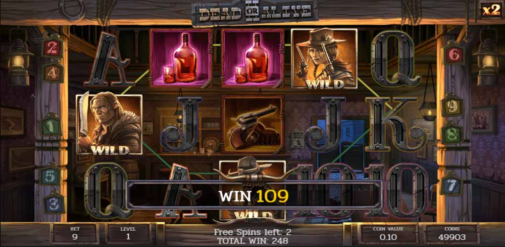Free Spins Dead or Alive 2