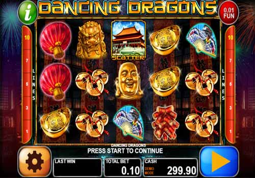 Machine à sous Dancing Dragons