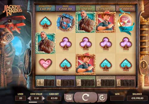 Machine à sous Jackpot Raiders