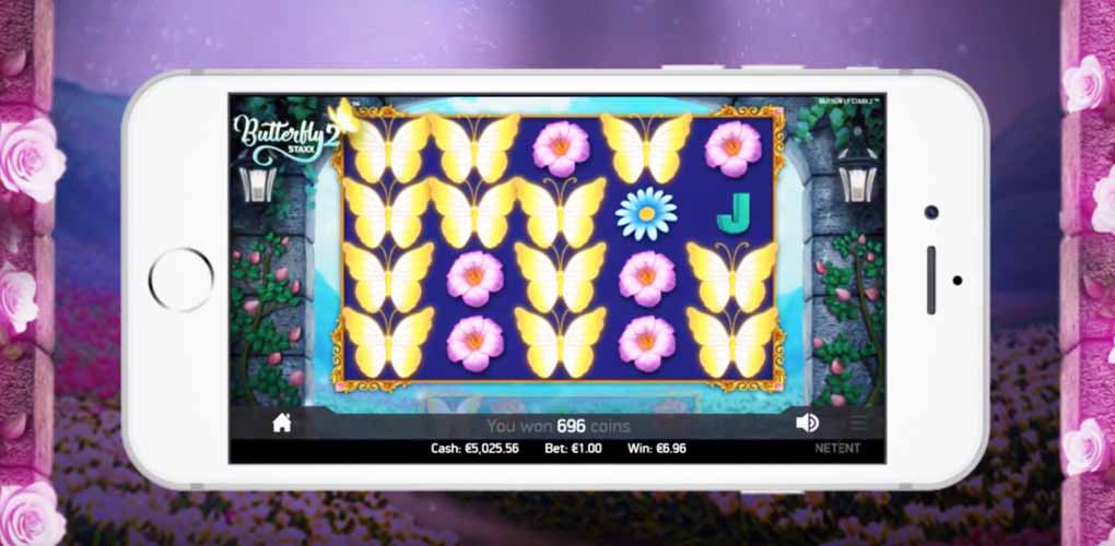 Butterfly Staxx 2 sur mobile